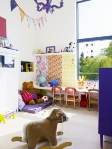 Farbenfrohes Kinderzimmer
