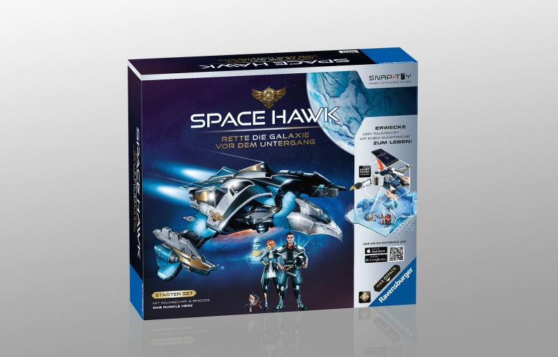 Space Hawk Startet Set von Ravensburger